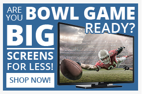 Big Screens For Less!