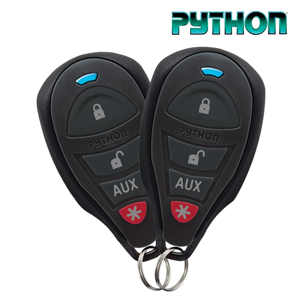 Python Remote Car Starter with Two 4 Button Remotes