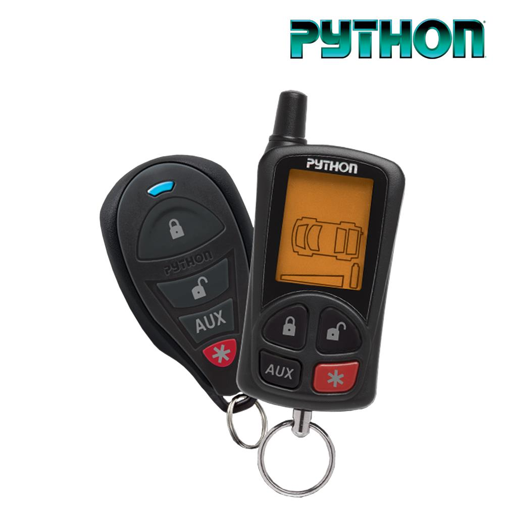 Python LCD 2-Way Security & Remote Start System