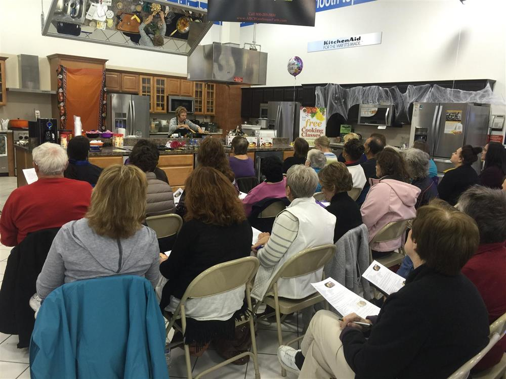 People Attending Cooking Class at ABC Warehouse