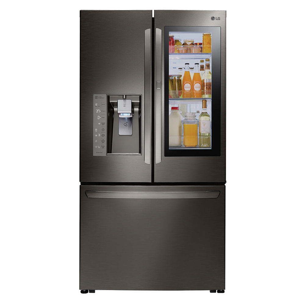LG Black Stainless Steel French Door Refrigerator