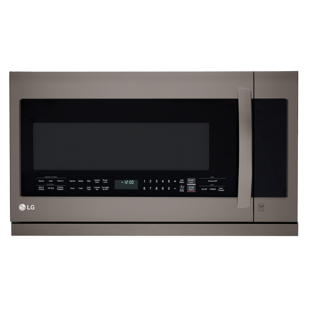 LG Black Stainless Steel\ Over The Range Microwave