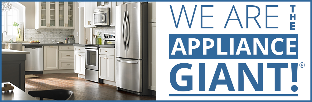 We are the appliance giant!