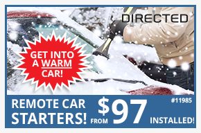 Remote Car Starters starting from $94 installed!