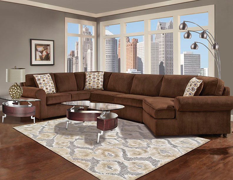 Hendersen Cuddler Sectional Collection