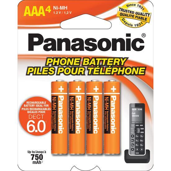 Picture of PANASONIC HHR4DPA/4B