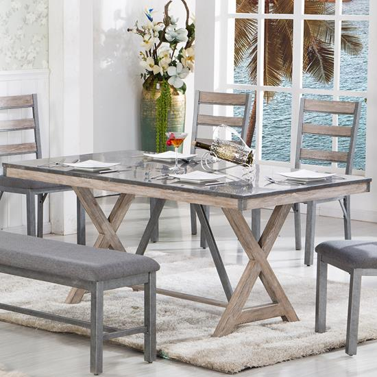 Picture of LIFESTYLE ENTERPRISE C1768D-DTX-XXXX-DINING-TABLE