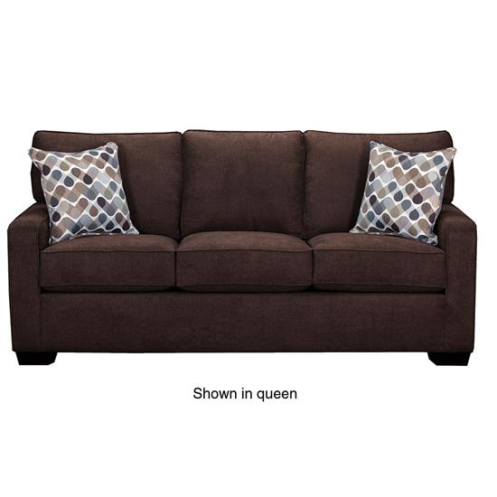Picture of SIMMONS UPHOLSTERY 9025-MINI-SLEEPER-SOFA-ESPRESS