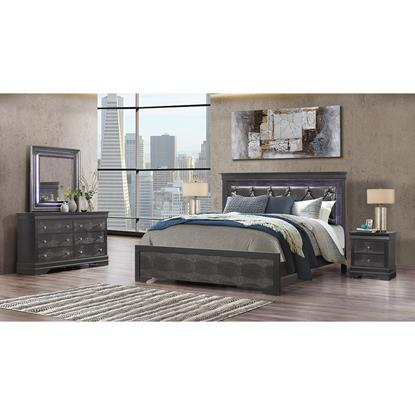 Picture of GLOBAL POMPEI-GREY-6PC-KING-PACKAGE