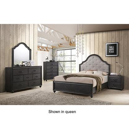Picture of DAVIS HOME SPENCER-KING-7PC-BEDROOM-PKG